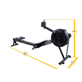 Endurance Rower R300 Body Solid-2