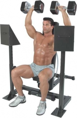 Dumbell Spotting Stand - Ironmaster-3
