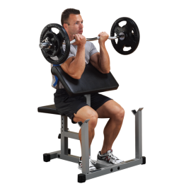 PPB32X Preacher Curl Bench Powerline-1