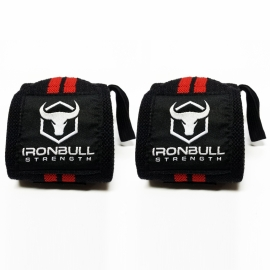 Ensemble de courroies de levé + supports pour le poignet - IronBull Strength-3
