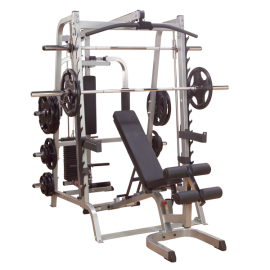 GS348P4 Series 7 Smith Machine Body Solid-1