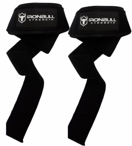 Ensemble de courroies de levé + supports pour le poignet - IronBull Strength-2