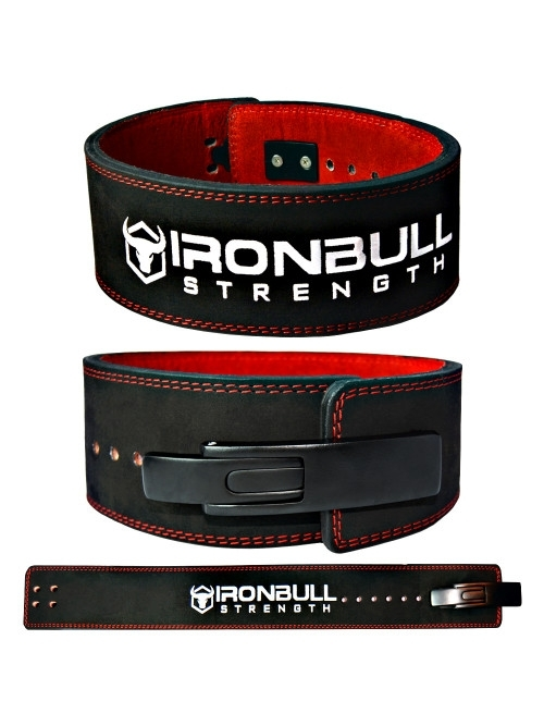 Powerlifting lever belt 13mm - Ironbull-1