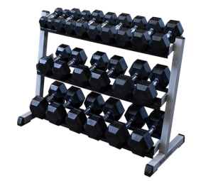 Dumbbell Rack 3-Tier 48'' - Body Solid