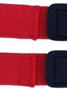 Lifting strap lifting strap: Cotton red