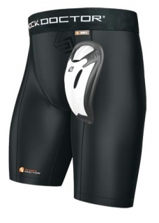 Short a compression avec Bio-Flex cup SHOCK DOCTOR