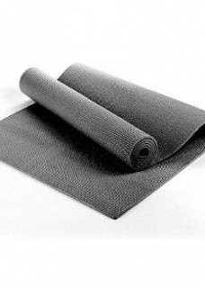 Yoga Accessories Yoga accesories: Yoga mat 6mm thick black with bag