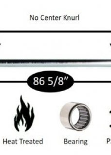 York Olympic Barbell Olympic bars: 32110 weightlifting bar 7' 28mm needle bearing