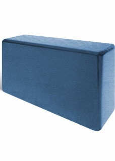Yoga Accessories Yoga accesories: Yoga block 6x9x3'' Blue Ultimate
