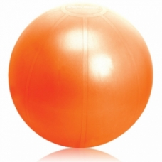 Ballon d'exercices Ballon d'exercices: Ballon IronBody pro 75cm argent avec pompe