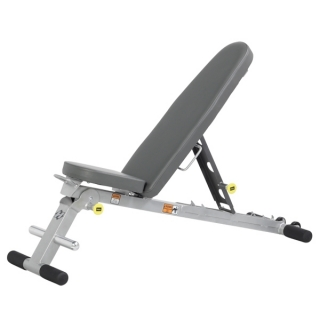 HF-4145 Folding FID Bench Hoist Fitness