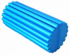 "Foam Rollers Foam roller full 6""X36"" medium firm: EVA wave 6x12"