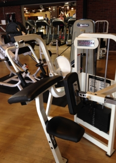 Cybex Tricep extension machine