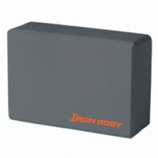 "Yoga Accessories Yoga accesories: Yoga block 6""X9""X3"" grey"