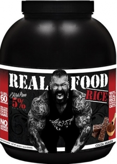 Real Food Rice Cocoa Heaven - 5% Nutrition Rich Piana