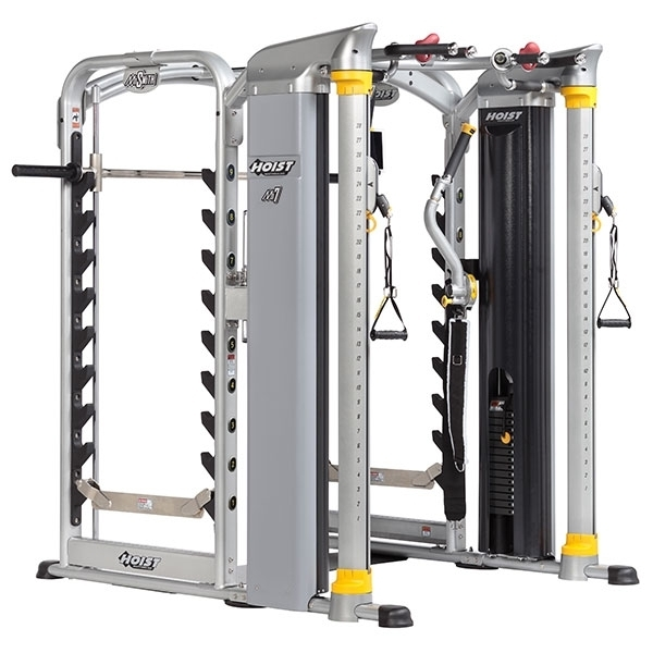 Hoist Multi Gym Mi7 Smith Ensemble: Full Functional/Smith MI7SMITH - Hoist Fitness