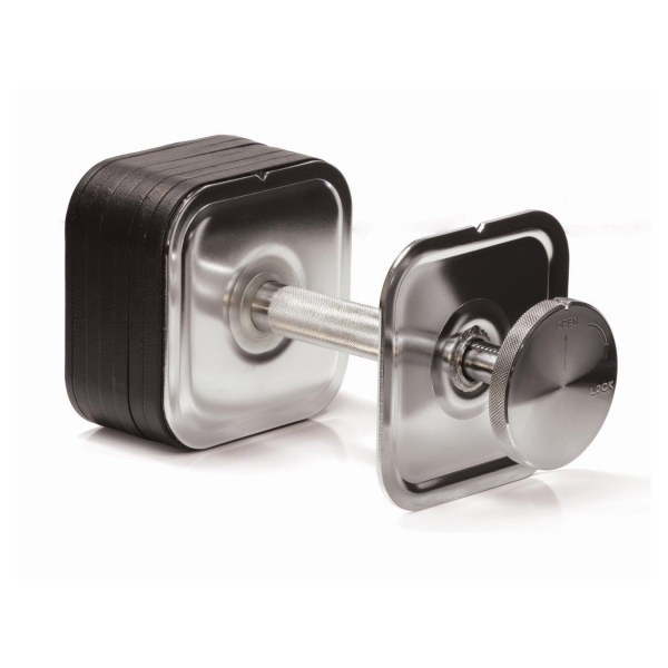 Ironmaster Adjustable Dumbbells Used: Quick-Lock Dumbbells Ironmaster 5-75lbs QLDB